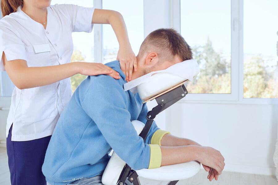 massage assis ou allongé